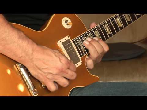 No1 2012 Gibson Les Paul Custom Shop Lee Roy Parnell Signature 1957 Reissue Goldtop Part1