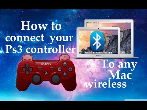 How to connect your ps3 controller to mac