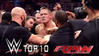 Top 10 Raw moments - September 15, 2014