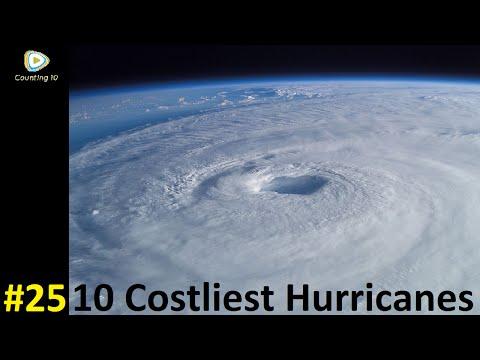 10 Costliest Atlantic Hurricanes | Counting 10 #25