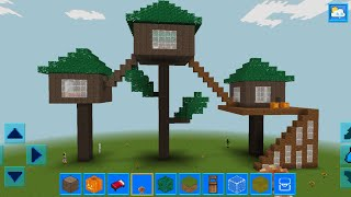 RealmCraft with Skins Export to Minecraft Gameplay #83 (iOS & Android) | Tree House🏡