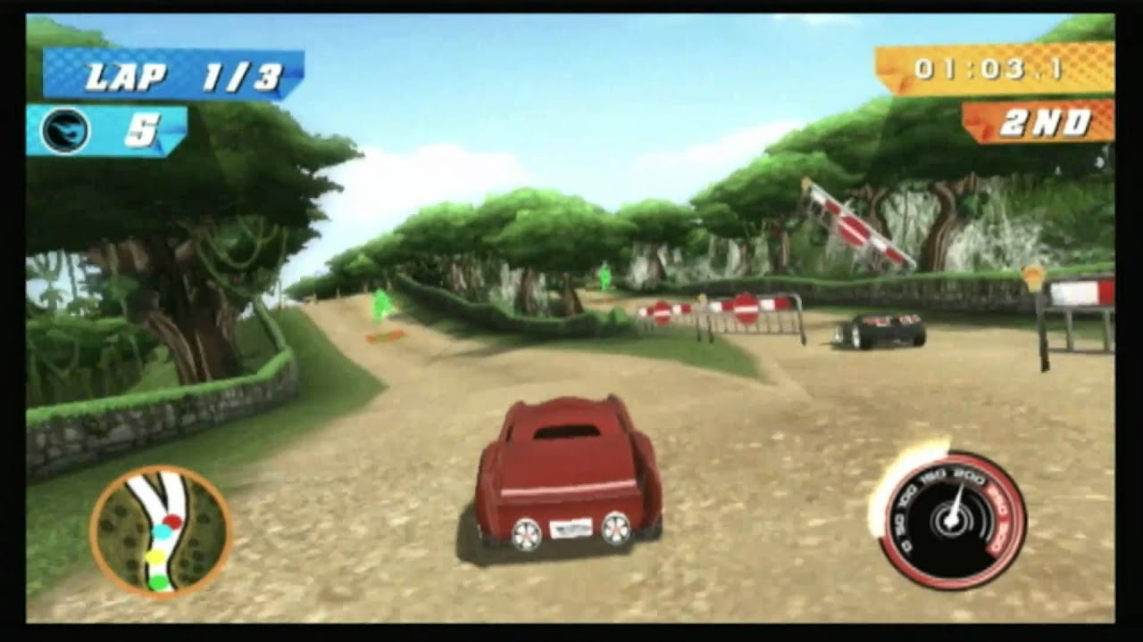 Car Games Hot Wheels Track Attack