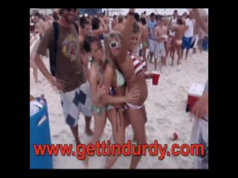 hot girls screaming spring break panama city beach flroida