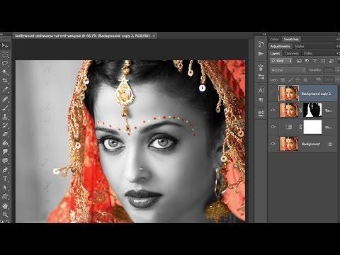 37.[Ps] Wedding Photo Edit  - Photoshop Tutorial [In Hindi]