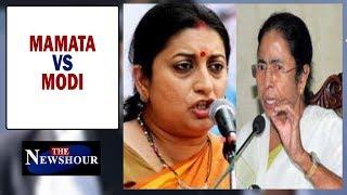 Smriti Irani takes on Mamata Banerjee, Who has crossed the line? | The Newshour Debate (4th Feb)