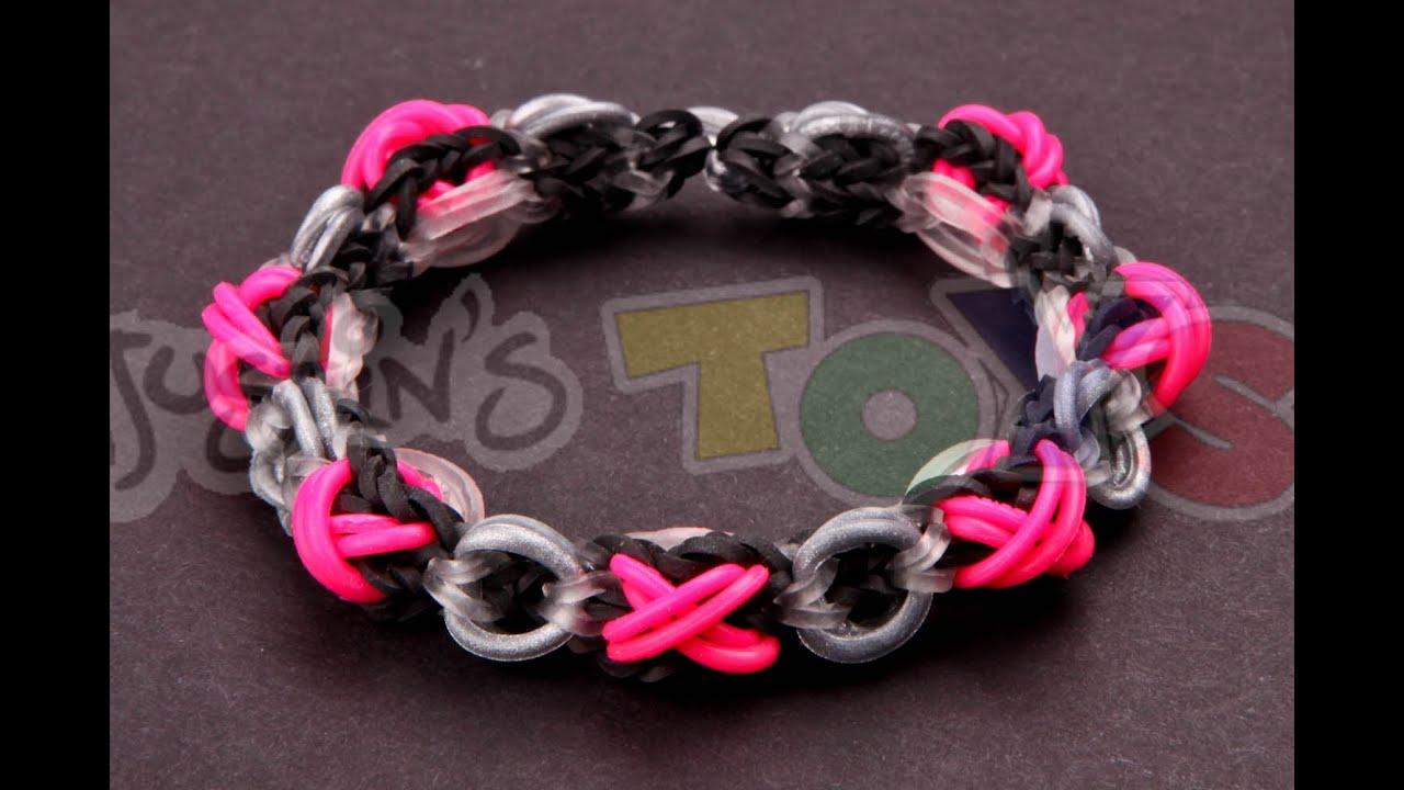 Xoxo Bracelet Tutorial Very Advanced Made With Rainbow