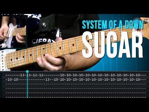 System Of A Down Sugar como tocar aula de guitarra