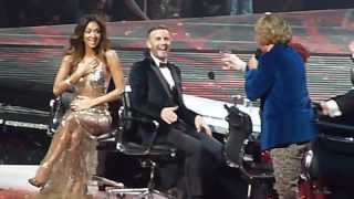 X Factor Final 2013 - Gary Barlow sings 'Mistletoe & Wine' with Keith Lemon - 15/12/13
