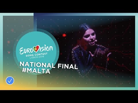 Christabelle - Taboo - Malta - National Final Performance - Eurovision 2018
