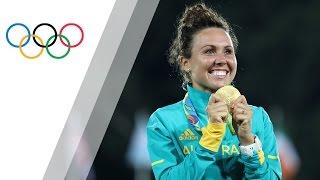 Australia's Chloe Esposito sets Modern Pentathlon Olympic Record