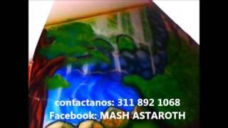 aerografia decoracion jardin infantil BURBUJITAS DE AMOR