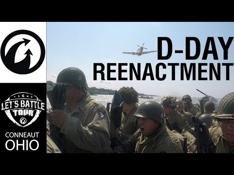 D-Day Reenactment: Wargaming's First-Hand Experience at Let's Battle Tour