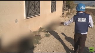 GRAPHIC: Deadly trail left by retreating Syrian jihadists in Bahsa village (EXCLUSIVE)