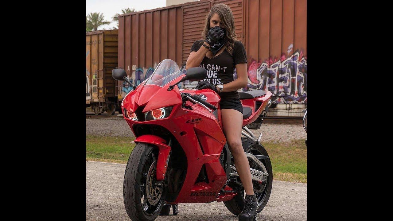 Фото девушек на байках, Прекрасные девушки на шикарных мотоциклах (80 фото) 5 фотография