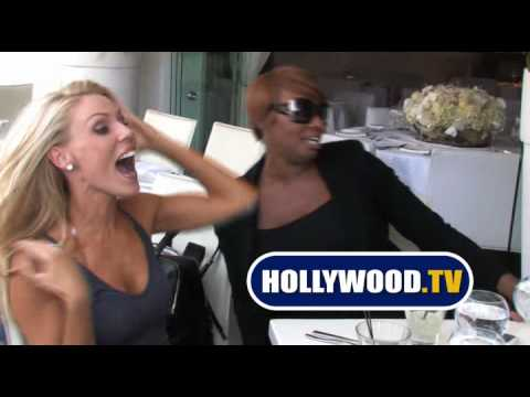 NeNe Leakes And Gretchen Rossi Have Lunch In Beverly Hills Video