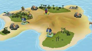 Lego Xây Nhà Trên Đảo Hoang - Game Vui Cho Bé