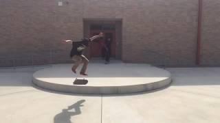 Kickflips at adams hill
