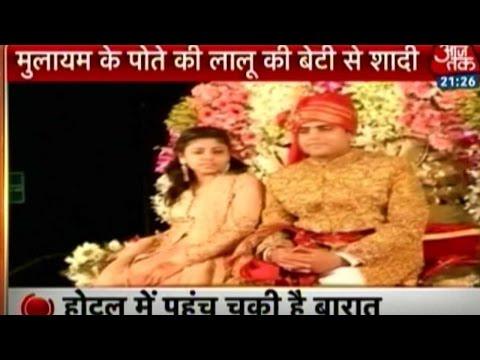 Band, Baaja, Baraat: Lalu Prasad's Daughter Marries Mulayam's Grandnephew