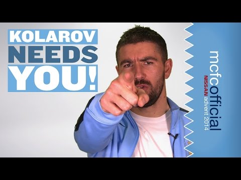 Will Kolarov Sing? YOU decide! | Man City Advent Calendar 2014 | Day One