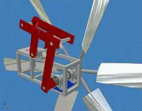 Autodesk Inventor Wind Turbine Water Pump Windmill Youtube