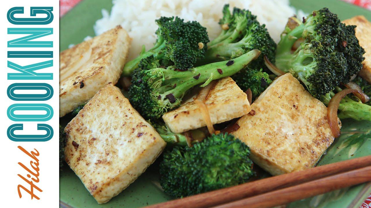 How to Stir Fry - Tofu Broccoli Stirfry - YouTube