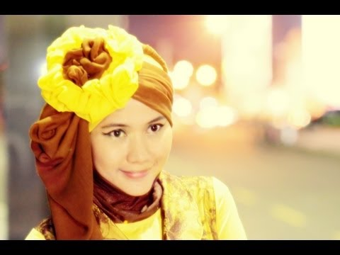 Tutorial Hijab Pesta dan Wisuda | Created by Didowardah | Running Ramadhan 2013 - Part #21