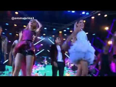 """Violetta 3 - Los chicos cantan """"Crecimos juntos"""" en el show de Sevilla (03x80)"""