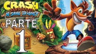 Crash Bandicoot N. Sane Trilogy   Gameplay en Español   Parte 1 - No Comentado (PS4 Pro)
