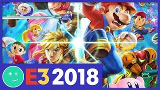 Smash Bros: Everything We Know  - Kinda Funny E3 2018