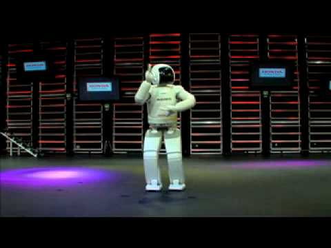 Dr. Nat CES -With the Female-Like Robot ASIMO by Honda