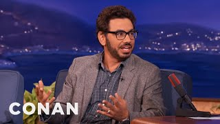 Al Madrigal Is Filled With Air Rage  - CONAN on TBS