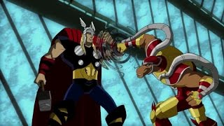 Thor meets Beta Ray Bill (Avengers: Earth's Mightiest Heroes)