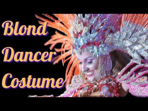 Blonde Dancing Samba Brazilian Festival Rio Carnival 2014: Dance Routines By Camila video