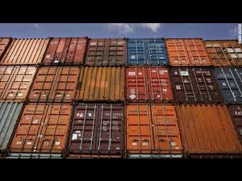 Removendo neve - Topo do Container - Vlog18rodas