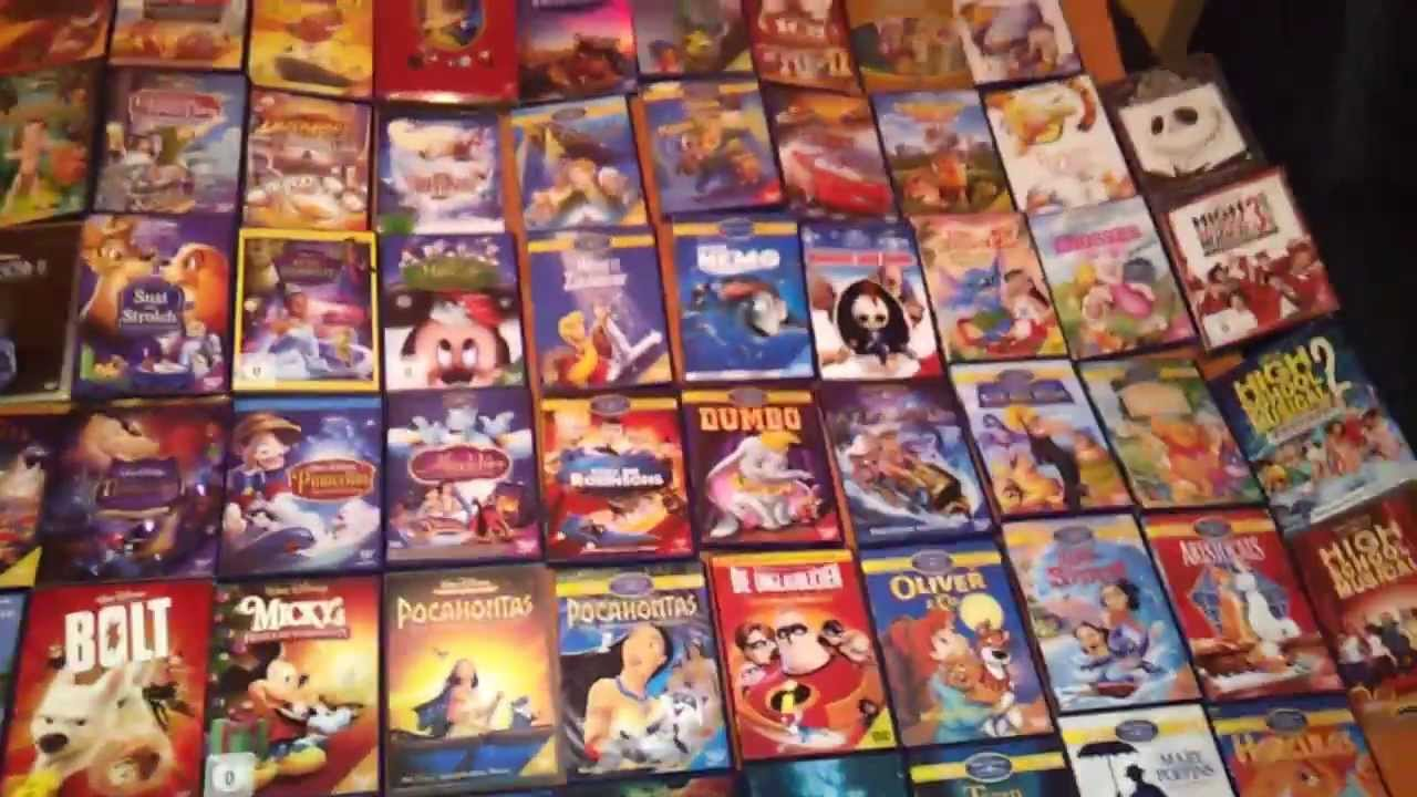 meine disney dvd sammlung youtube. Black Bedroom Furniture Sets. Home Design Ideas