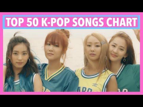 [TOP 50] K-POP SONGS CHART • JUNE 2017 (WEEK 1)