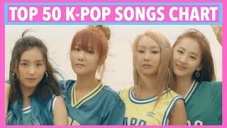 download lagu Top 50 K-pop Songs Chart • June 2017 Week gratis