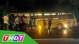 Xe khách giường nằm gây tai nạn kinh hoàng ở Long An | THDT