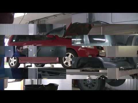 Ремонт выхлопной системы на авто  Opel Zafira
