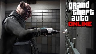 The Worst Heists You Will Ever See & The Worst Getaway Driver - Grand Theft Auto Online