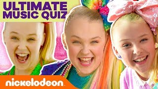 UNBEATABLE JoJo Siwa Music Quiz 🎀! | #MusicMonday