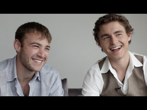 Emory Cohen Callan McAuliffe interview Beneath the Harvest Sky