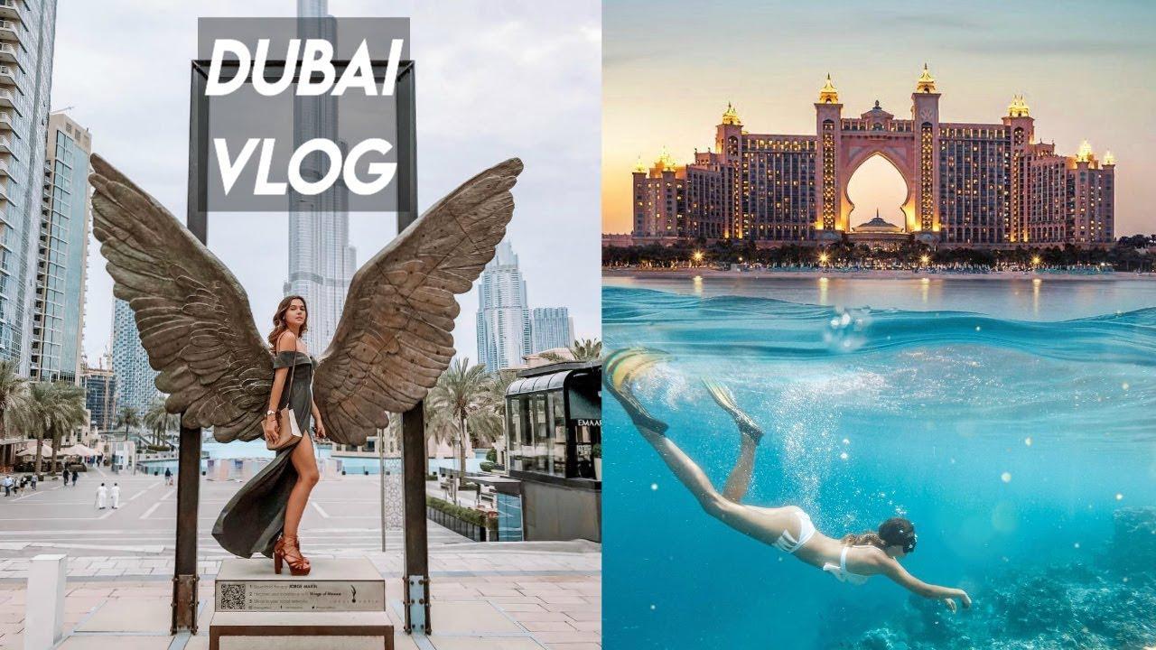 ИСПОЛНИЛА МЕЧТУ - Я в Дубае! Погружение к Акулам и Скатам в Atlantis The Palm Dubai