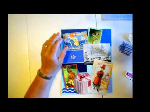How to make Glue Book pages  #3