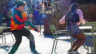 First Person Chair Pulling Prank!