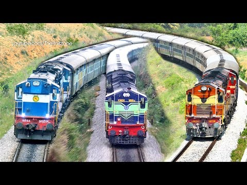 Final Stage of Electrification | MYSORE - BANGALORE Trains | Indian Railways thumbnail
