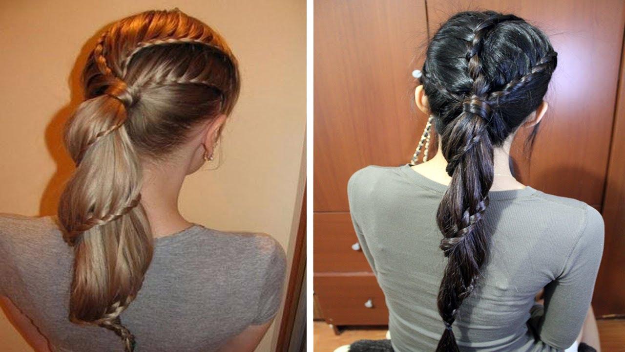 Ponytail Hairstyles With Braiding Hair Braid Ponytail Hairstyle