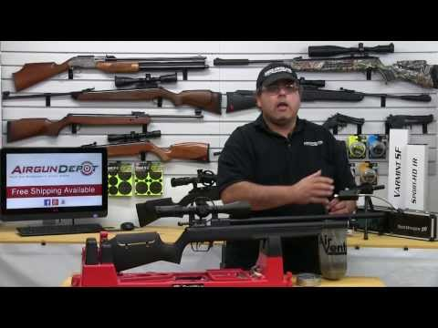 .25 cal Synthetic Benjamin Marauder Airgun Review - By AirgunWeb