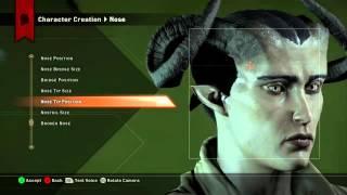 Dragon Age: Inquisition - Female Qunari character creation