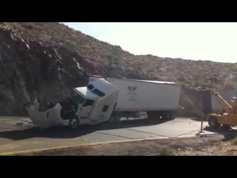 Accidente La Rumorosa